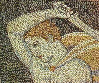 Mosaic from Pella (Macedonia) 4th Century BC